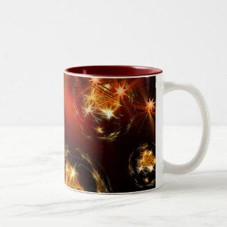 candles-386045 COZY ROMANTIC DIGITAL ART candles c Two-Tone Coffee Mug