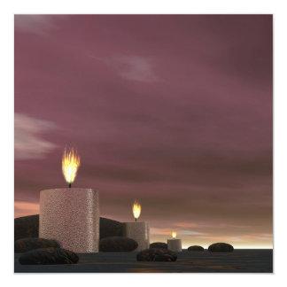 Candles - 3D render Card