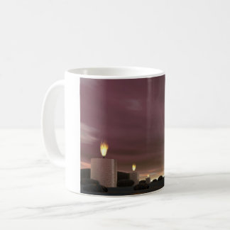 Candles - 3D render Coffee Mug