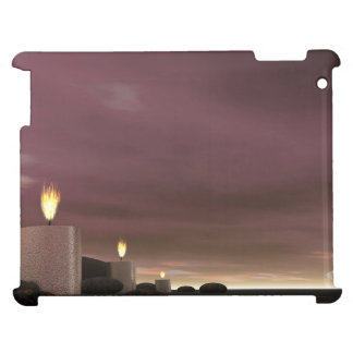Candles - 3D render iPad Case
