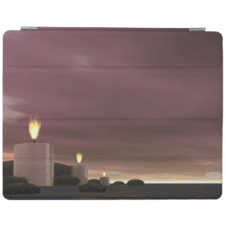Candles - 3D render iPad Cover
