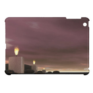 Candles - 3D render iPad Mini Covers