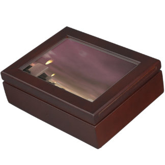 Candles - 3D render Keepsake Box