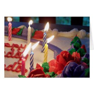Candles Birthday Card