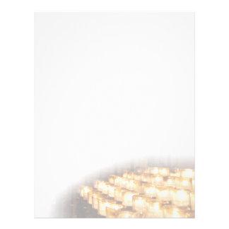 Candles Letterhead