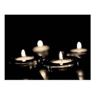 Candles Postcard