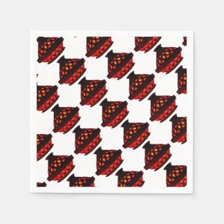 candlestick-tajine disposable napkins