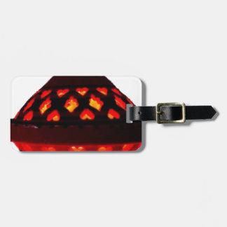 candlestick-tajine luggage tag