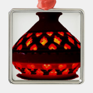 candlestick-tajine metal ornament