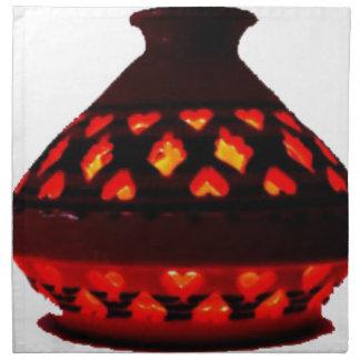 candlestick-tajine napkin