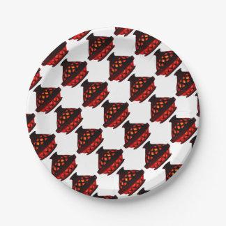 candlestick-tajine paper plate