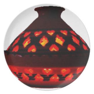 candlestick-tajine plate