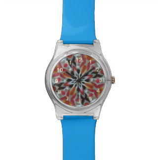 Candy abstract pattern watches