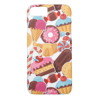 Candy and Pastries Palooza Seamless Pattern Case-Mate iPhone Case