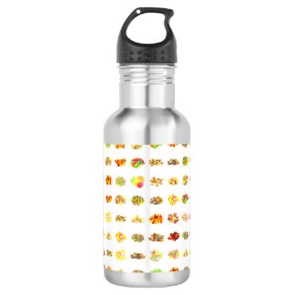 Candy Background 532 Ml Water Bottle