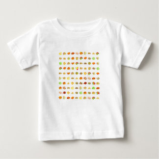 Candy Background Baby T-Shirt