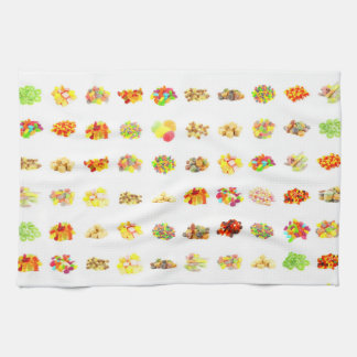 Candy Background Kitchen Towel