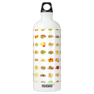 Candy Background Water Bottle