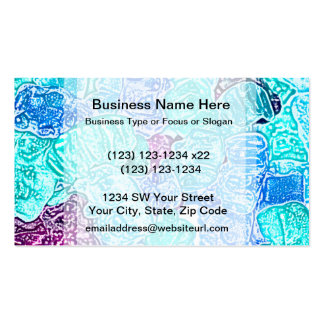 candy bears blue sketch food sweet edible business card