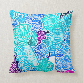 candy bears blue sketch food sweet edible pillows