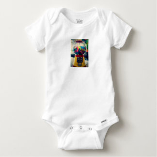 Candy bubblegum toy machine retro baby onesie