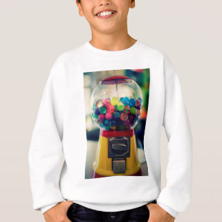 Candy bubblegum toy machine retro sweatshirt