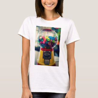 Candy bubblegum toy machine retro T-Shirt