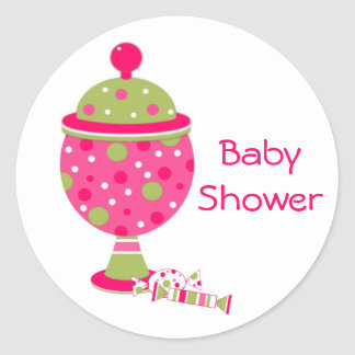Candy Buffet Baby Shower Envelope Seal