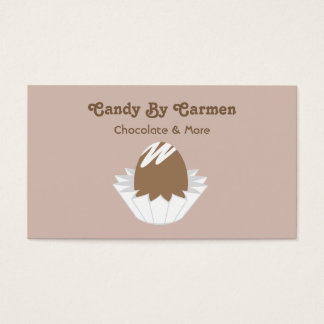 Candy Business Card - Chocolate