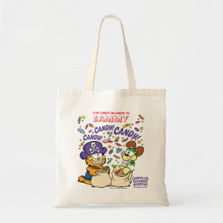 Candy! Candy! Candy! Personalized Tote Bag