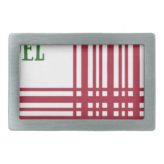 Candy-Cane #10 Belt Buckle