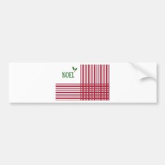 Candy-Cane #10 Bumper Sticker