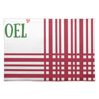 Candy-Cane #10 Placemat