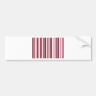 Candy-Cane #11 Bumper Sticker