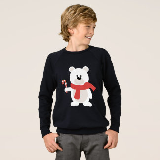 Candy Cane Bear Sweatshirt