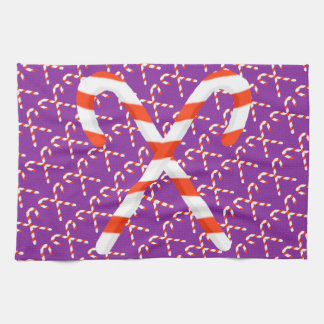 Candy Cane Christmas Kitchen Towel