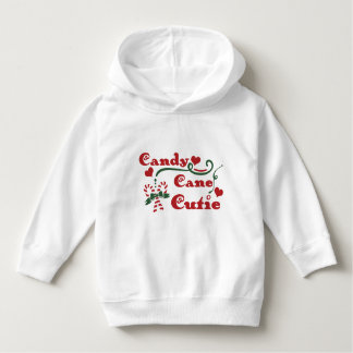 candy cane cutie hoodie