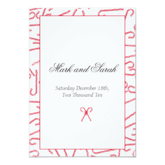 Candy Cane Dance Invitation P