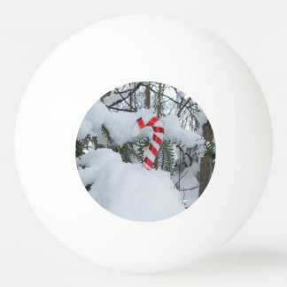 Candy Cane Decoration Ping Pong Ball