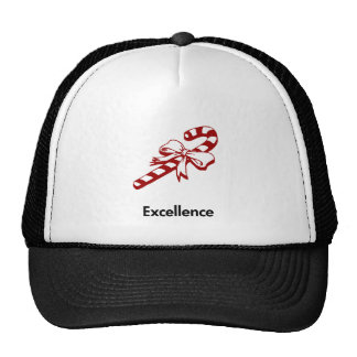Candy Cane Excellence Trucker Hat