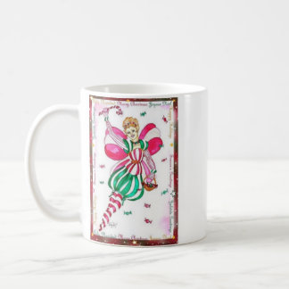 Candy Cane Fairy Mug