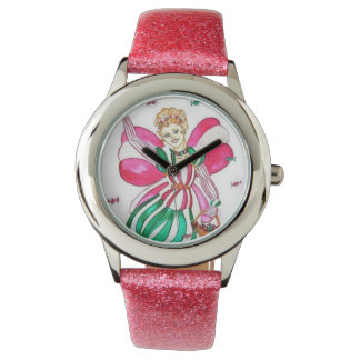 Candy Cane Fairy Watch