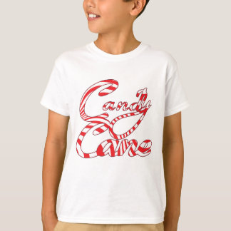 Candy Cane Holiday T Shirt - All colours and Sizes