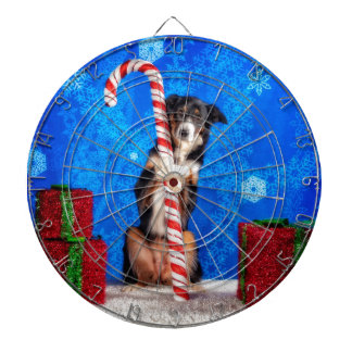Candy Cane lover Dartboard