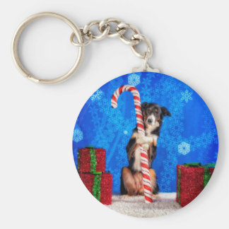 Candy Cane lover Keychain
