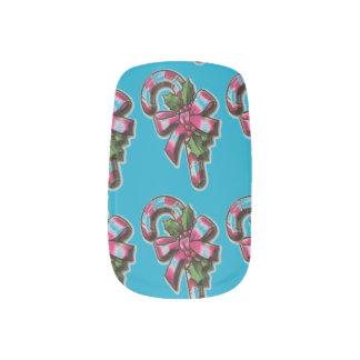 Candy Cane Nails Minx Nail Art