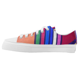 """Candy Cane""Original Tquinn art Low-Top Sneakers"