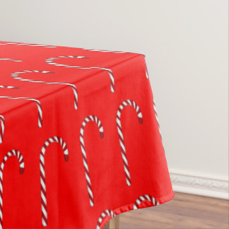 Candy Cane Pattern Tablecloth