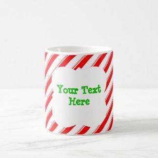 Candy Cane Personalized Coffee Mug