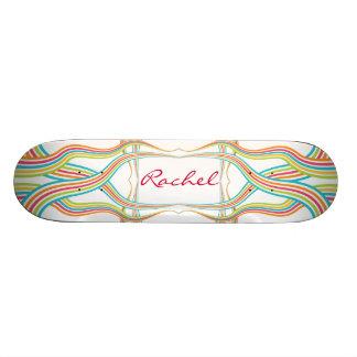Candy Cane Skateboard